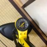 ロードバイクの乗り心地は空気圧で変わる話